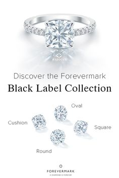 Experience the best of the best with Forevermark's Black Label Collection. Presenting a new generation of diamonds, cut with perfect symmetry and unprecedented accuracy, these diamonds release a dazzling light. Available in five shapes, the Black Label Collection is the most exclusive collection of diamond cuts ever conceived. Experience the collection at: Forevermark.com/blacklabel