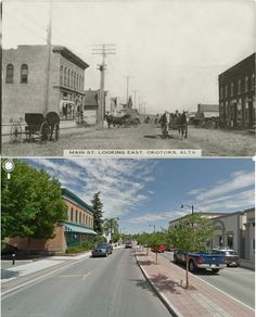Okotoks, then... and now!