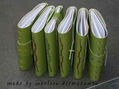 Handmade books by Marleen Derweduwen