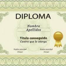 resultado de imagen para diplomas para editar en word gratis
