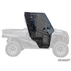 Honda Pioneer 1000 Cab Enclosure Doors Side By Side Accessories, Utv Accessories, Turbo Shop, Honda Pioneer 1000, Polaris Ranger, The Struts, Monster Trucks, Doors, Atvs