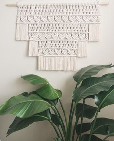 A personal favorite from my Etsy shop https://www.etsy.com/ca/listing/602315750/kira-large-macrame-wall-hanging