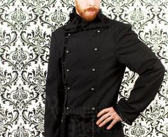 Hey, I found this really awesome Etsy listing at https://www.etsy.com/listing/107594607/victorian-mens-pinstripe-jacket