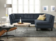 Having small living room can be one of all your problem about decoration home. To solve that, you will create the illusion of a larger space and painting your small living room with bright colors c… Living Room Furniture Layout, Living Room Sectional, Sectional Sofa, Home Furniture, Couches, Modern Furniture, Small Living Rooms, Living Room Modern, My Living Room