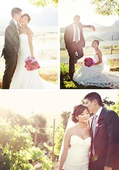 great lighting for a lovely couple