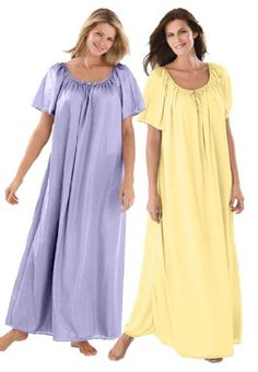 2-pack nightgown $26.99 @trishamiddletonporter, let's get these for our girls weekend trip in June! I get the blue one!!