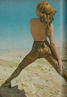 Vogue july 1969, Emilio Pucci tights