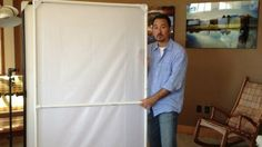 How To Build A PVC Soft Screen - DIY Photography