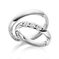 Q-1487-1 Couple Rings, Ring Verlobung, Wedding Planning, Wedding Inspiration, Wedding Ideas, Wedding Rings, Engagement Rings, Jewelry, Weeding