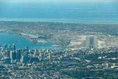 San Diego International Airport | Undated photo showing San Diego International Airport in America's ...