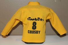 "Tim Hortons Sidney Crosby Timbits Hockey #8 6.5"" Coin Bank"