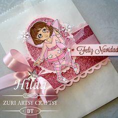 Hilda Designs: Reto 5 en ZAC: Navidad en Rosa Ellete de  Zuri Artsy Craftsy