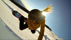 Brillando más que el sol!! ;) #snow #snowboard #gopro #alquilar