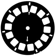 Cocoa Daisy viewfinder reel FREE cut file. I don't have a Silhouette but I'm thinking this is still something I can use...