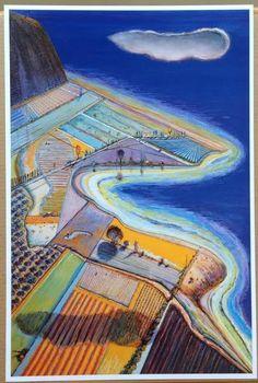 Wayne Thiebaud - Coastal Farms #PopArt