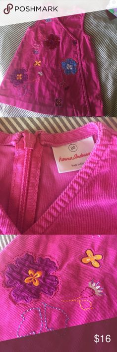 Hanna Andersson Corduroy Dress Hanna size 80. US is about 18-24 months. EUC. No signs of wear besides some wrinkles! :) Hanna Andersson Dresses Casual