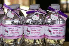 Hello kitty party water bottles