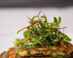 Green Pancakes with Lime Butter Recipe from Plenty | Bon Appetit