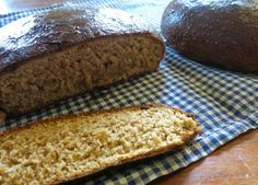 Pihin naisen elämää: Se perinteinen piimälimppu Bread Board, Deli, Scones, Banana Bread, Food And Drink, Rolls, Pie, Baking, Desserts