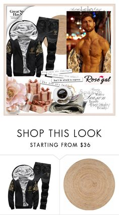 """Rosegal #78"" by sanela-trebinjac ❤ liked on Polyvore featuring nuLOOM, men's fashion and menswear"