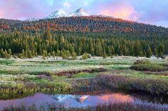 Big Meadows California | Last Light Over the Big Meadow - Tuolumne Meadows, Yosemite National ...