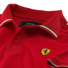 Ferrari Online Store: Apparel, accessories and merchandise by Ferrari. Enter the Official Ferrari Online Store and shop securely! Polo Shirt Style, Polo Rugby Shirt, Mens Polo T Shirts, Polo Tees, Mens Attire, Camisa Polo, Ferrari, Shirt Designs, Menswear