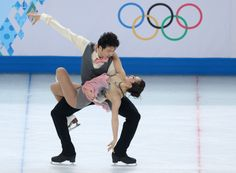 Xintong Huang and Xun Zheng of China competes during the Figure Skating Ice Dance Short Dance (c) Getty Images