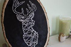 Deer String Art