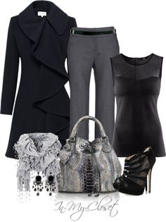 """For The Office - #1"" by in-my-closet on Polyvore"