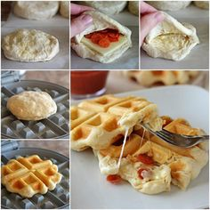 Create A Delectable Pizza Waffle For Your Loved-Ones