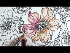 Dagdrommar by Hanna Karlzon - T1 #1 - PRISMACOLOR - YouTube
