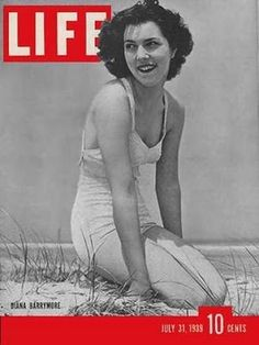 Actress Diana Barrymore~ age 38, suicide by alcohol and drug overdose. Daughter of John Barrymore