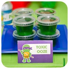 how to make slime ninja turtle ooze