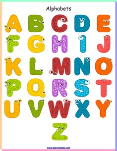 Here you find the best free Alphabet Letter Clipart Images collection. You can use these free Alphabet Letter Clipart Images for your websites, documents or presentations. Alphabet A, Animal Alphabet, Alphabet Charts, Printable Alphabet, Arabic Alphabet, Alphabet Design, Alfabeto Animal, Charts For Kids, Removable Wall Stickers