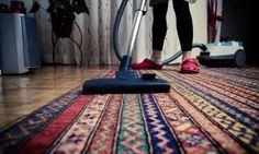 Limpiar a fondo las alfombras