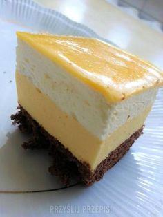 Ciasto Advokacik Pastry Recipes, Tart Recipes, Sweet Recipes, Dessert Recipes, Polish Desserts, Polish Recipes, Cake Bars, Sweet Pastries, Sweets Cake