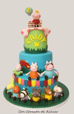 Peppa Pig Fairy Koraci [Tart Obitelj i prijatelji Peppa Pig] | sa srcem ŠEĆER