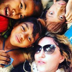 FOTOS: Madonna visita un refugio para niños huérfanos