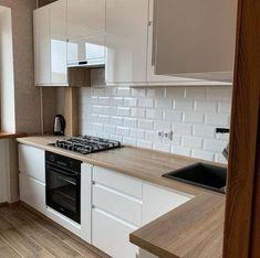 Kitchen Pantry Design, Modern Kitchen Design, Home Decor Kitchen, Interior Design Kitchen, Kitchen Furniture, Home Kitchens, Home Room Design, Home Design Decor, Küchen Design