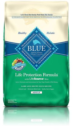Blue Buffalo Life Protection Formula Adult Small Bite Dog Food - Natural Dry Dog Food for Adult Dogs - Chicken and Brown Rice - 30 lb.