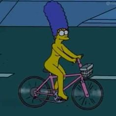 this is the picture that matches how i feel in math class Homer Simpson, Lisa Simpson, Los Simsons, Futurama, Reaction Pictures, The Simpsons, Tandem, Dankest Memes, Bicycle