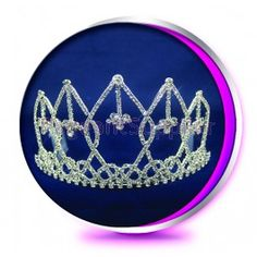 The Sady - Pageant Crown or Wedding Princess Tiara (Homecoming, Prom, Bridesmaid, Birthdays, Bachlorette, etc)