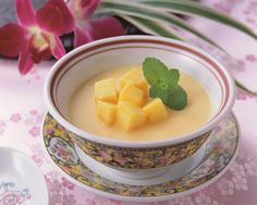 Mango pudding recipe - Try Stephen Wong's recipe for mango pudding, a popular dessert at dim sum.