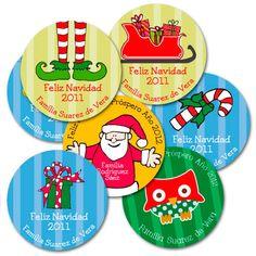 Tarjetas para regalos de Navidad: personaliza tus regalos