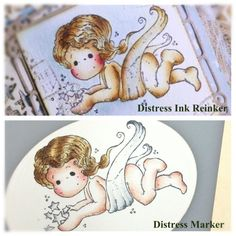 Distress Ink and Distress Marker