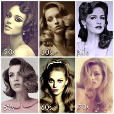 Vintage Makeup DIY Pin Curls: Harm-Free Way to Look Vintage - See the hairdo of Dita Von Teese or Rachel McAdams in The Notebook? Pin curls can give you a luscious and natural more vintage look instantly. Retro Curls, Retro Updo, Vintage Curls, Look Vintage, Vintage Waves, Retro Vintage, Vintage Prom Hair, Modern Retro, Cabelo Pin Up