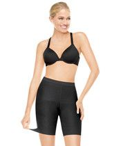 Spanx.com - ASSETS® Red Hot Label™ Super Control Mid-Thigh Available at Lorenza Fashion http://lorenzafashion.com
