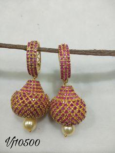 Coral Jewelry, Diamond Jewelry, Gold Earrings, Drop Earrings, Imitation Jewelry, Ear Rings, Coffee Time, Kurtis, Crochet Earrings