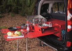 Back in September of 2010 I featured something called a Swiss Room Box which turns your current car or van into a camper instantly. So it's basically a kit that turns your current vehicle int…