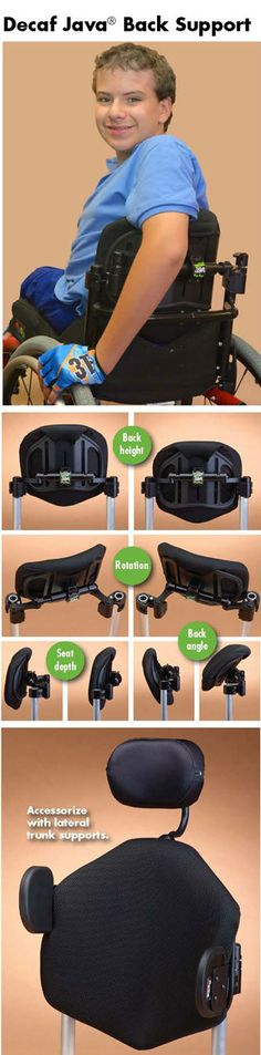 Ride Designs Configured Wheelchair Backs: Pediatric Decaf Java back. >>> See it. Believe it. Do it. Watch thousands of spinal cord injury videos at SPINALpedia.com